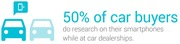Car Buyers Research on Mobile at Dealership