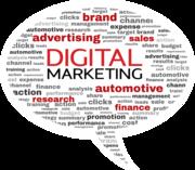 Digital Marketing Keyword Bubble