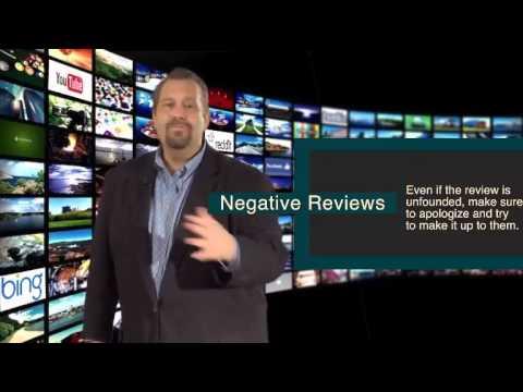 Ralph Paglia - Module 08 - Negative Reviews