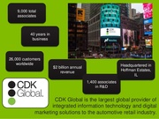CDK Global Facts and Data Journey