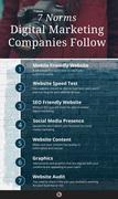 7 Digital Marketing Standards Infographic