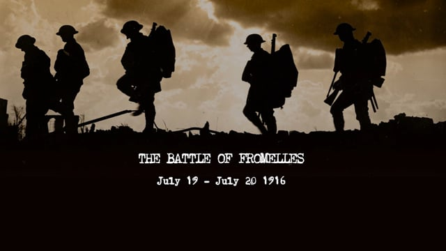 The Battle of Fromelles Commemoration Film