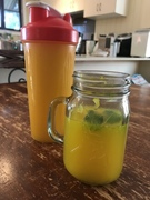 Made some into ginger tumeric mint and lemon tea.