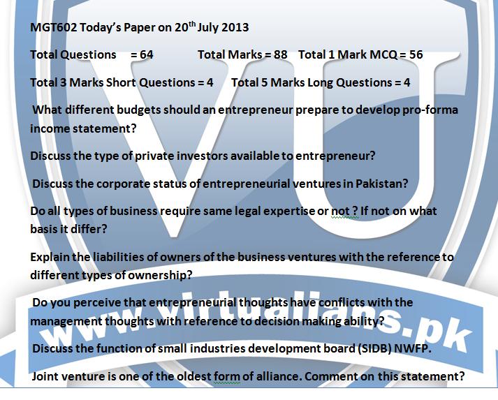 final term paper mgt602