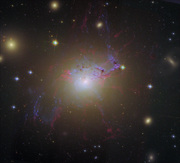 КОСМОС: Ремикс от Хаббла_ активная галактика NGC 1275
