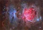 КОСМОС: Большая туманность Ориона M42
