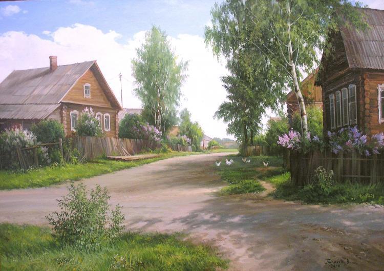 в деревеньки