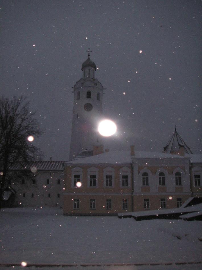 Новгородский кремль. Колокольня-1