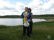 Озеро возле военного городка, где мы с мужем выросли