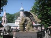В Донском монастыре
