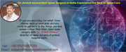 Dr Arvind Jaiswal , best surgeon for spine in india