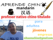 profesor nativo chino titulado en el chino