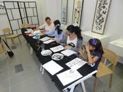 Taller pintura china en Iberochino Murcia