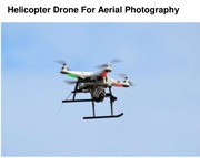 Helicopter Drone For Aerial Photography