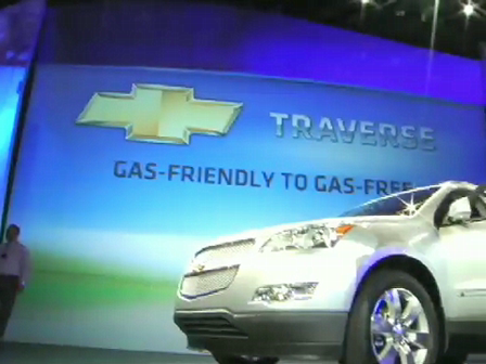 Unveiling of the Chevrolet Traverse with the CarsDiva
