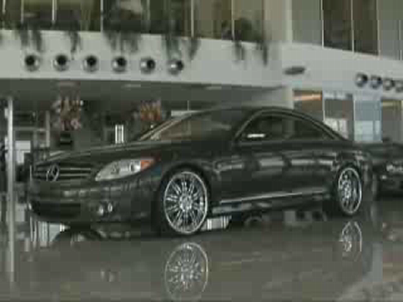 Schumacher Mercedes-Benz CL-Class Showroom Video