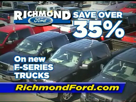Save Over 35% by Driving a New Ford from Richmond Ford in Richmond, VA Trucks Employee Pricing TV RICHMOND, VA
