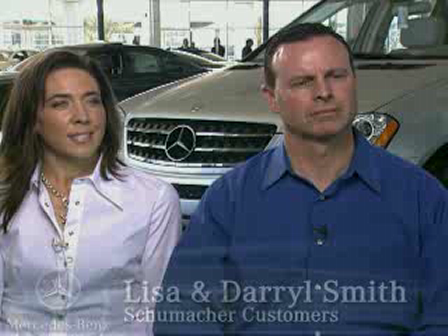 Schumacher European Mercedes-Benz Customer Testimonial from Daryl and Lisa Smith