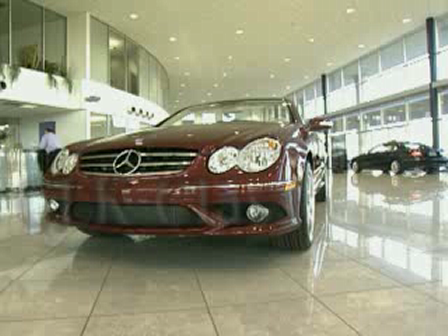 Schumacher Mercedes-Benz CLK 550 Showroom Video