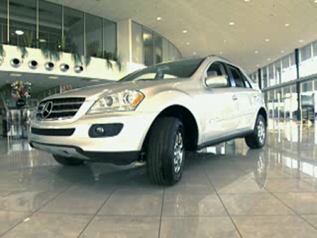 Schumacher Mercedes-Benz ML350 Showroom Video