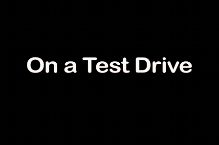 "On a Test Drive - ""For the wife"""