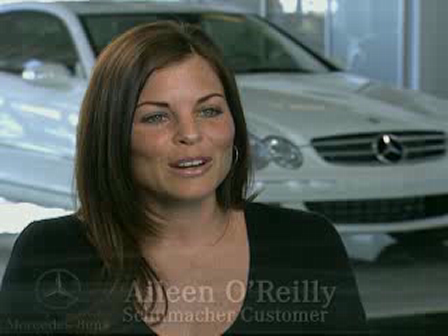 Schumacher European Mercedes-Benz Customer Testimonial from Aileen O'Reilly