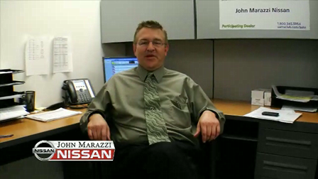 Hi I'm Peter Stratton, Internet Sales Manager at John Marazzi Nissan