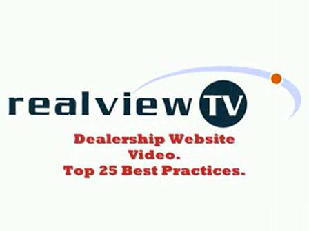 Auto dealership website video Best practices