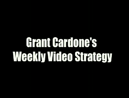 Grant Cardone asks; What's Your Excuse?