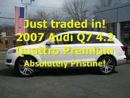 Audi Q7- Ken Beam shows a gorgeous 2007 Audi Q7 4.2 Quattro Premium
