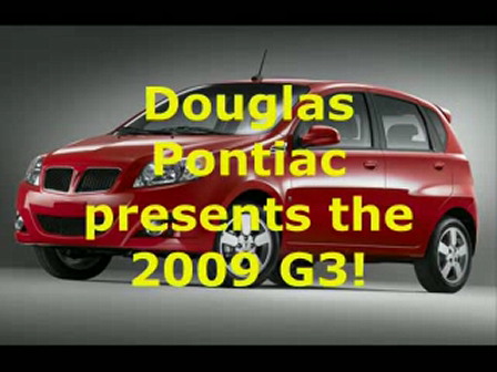 Ken Beam introduces the 2009 Pontiac G3 at Douglas GM in Summit New Jersey on March 31st 2009!