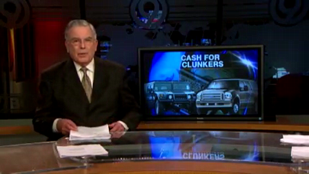 Cash For Clunkers KNBC News Report