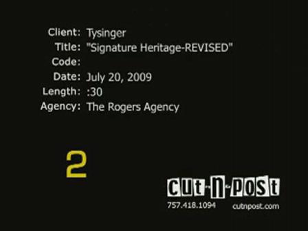 Heritage Signature Revised