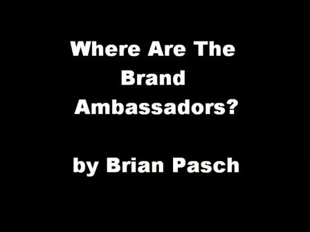 Where are the Automotive Website Brand Ambassadors?
