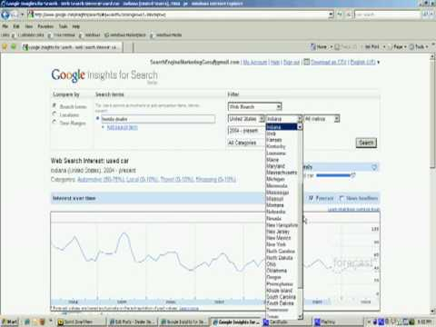 Dealer SEO Tips~Google Insight