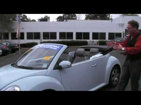 NJ VW- Ken Beam strikes again! Watch Ken show you a `06 VW Beetle Convertible on Oct. 10th 2009!