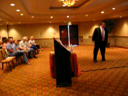 Life Beyond Bankruptcy Seminar - Short Clip of Ralph Paglia Reviewing Credit Profiles with Over 50 Customer Attendees