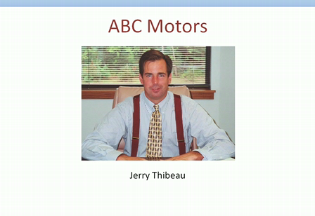 Jerry Thibeau; Video Sent to New Car Customers