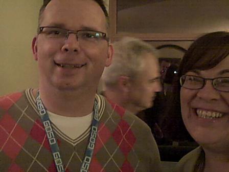 8th Digital Dealer Conference Pasch Reception; VJnator Meets An ADM Member Fan!