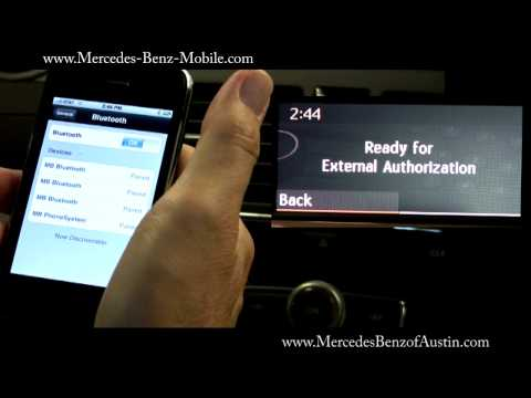 How to Pair your Apple iPhone to your Mercedes-Benz Bluetooth System (HD)