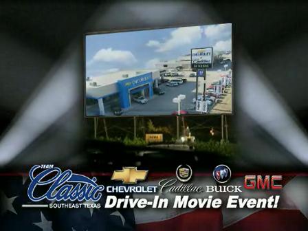 Drive In Movie Promo