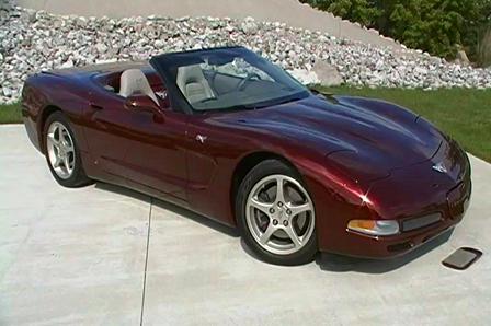 2003 50th Anniversary Edition Chevrolet Corvette Convertible wwwBrondesFordMaumeecom