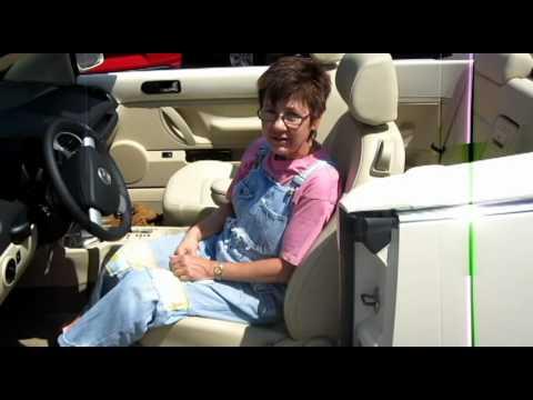 NJ VW-Very happy Douglas VW Customer picks up her 2010 Volkswagen Beetle Convertible!