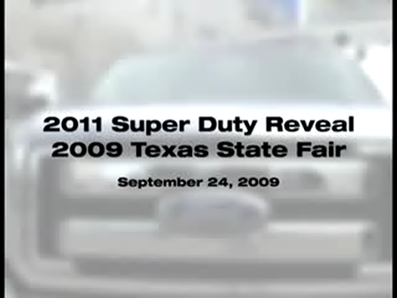 2011 Ford Super Duty Revealed at Auto Show