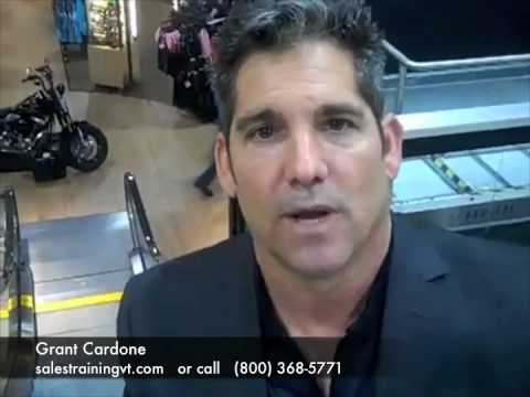 Sales Training: Increase Sales in Any Economy and Grant Cardone