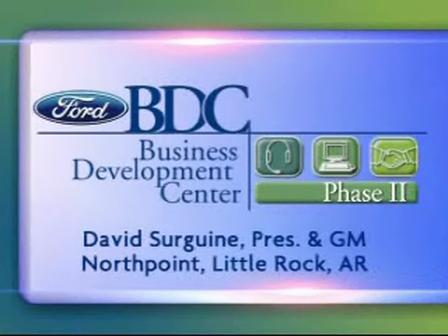 Ford Dealer David Surguine BDC Presentation