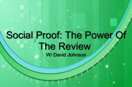 Social Proof: The Power Of The Review - An Automotive Social Media Video