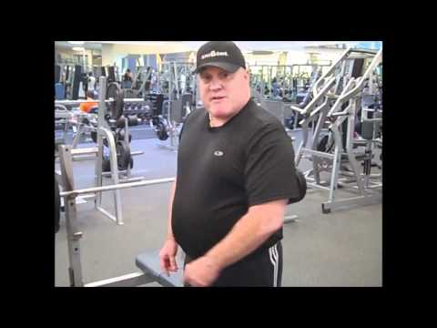 Jim Ziegler Attempts 300 lb Bench Press