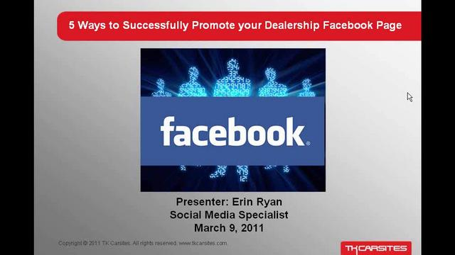 5 Ways to Successfully Promote Your Facebook Page