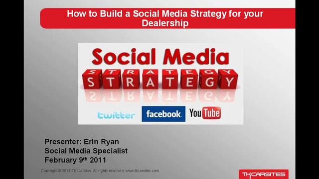 How to Build a Social Media Strategy for Your Dealership